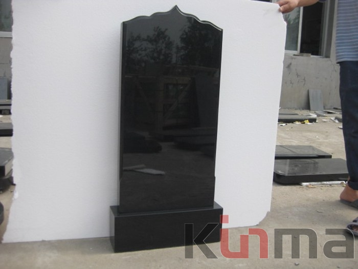 Wholesale Black Granite Headstones