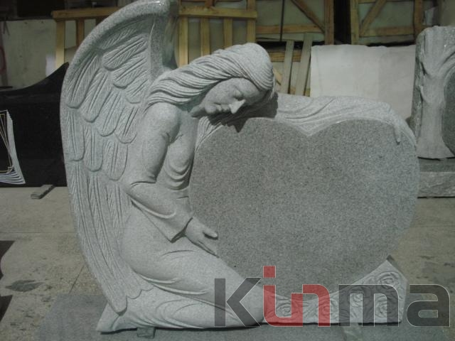 G603 Angel monument headstone tombstone