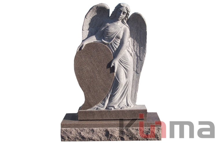 Low price tombstone with angel