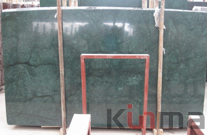 China Dark Green Slabs