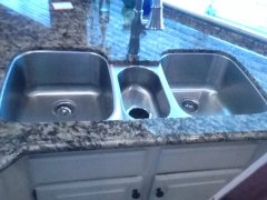 sea wave granite countertop