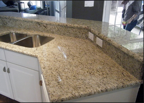 Glallo Oranmental Countertop