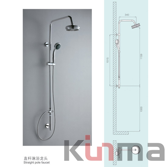 Fyeer Hot Sale Rainfall Shower Head